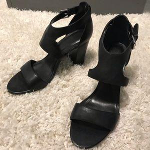 Ralph Lauren leather heels size 9
